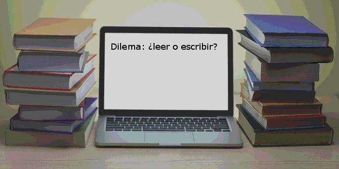 ¿Leer o escribir?