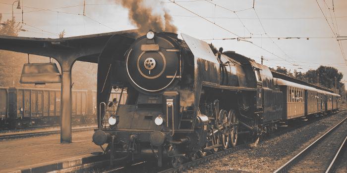 Tren al pasado