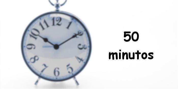 50 minutos